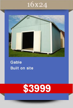 Prices For Sheds Barns Gables Portable Storage